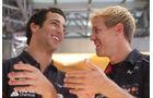 Daniel Ricciardo & Sebastian Vettel - F1 2013