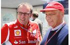 Domenicali & Lauda - Formel 1 - GP Kanada - 10. Juni 2012
