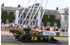 Emerson Fittipaldi - Lotus 72E - Goodwood 2013