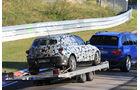 Erlkönig BMW 1er Unfall