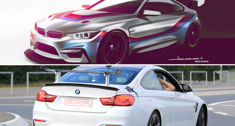 BMW M4 GT4 BMW M4 GT4