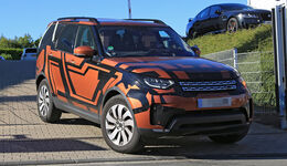 Erlkönig Land Rover Discovery