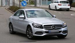 Erlkönig Mercedes C-Klasse Facelift