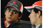 Esteban Guttierez & Sergio Perez - Formel 1 - GP USA - 14. November 2013