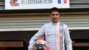 Esteban Ocon - Manor - Formel 1 - GP Belgien - Spa-Francorchamps - 26. August 2016