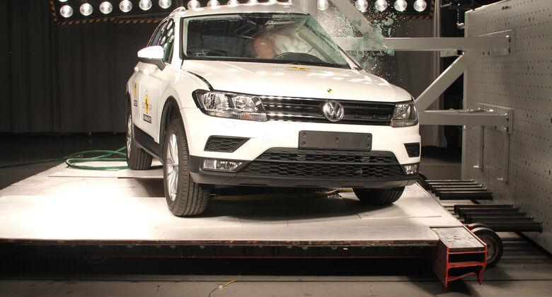 EuroNCAP-Crashtest 2016 VW Tiguan