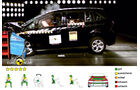 EuroNCAP-Crashtest, Ford Grand C-Max, Frontal-Crashtest