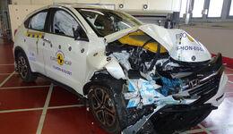 EuroNCAP-Crashtest Honda HR-V