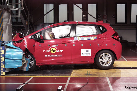 EuroNCAP-Crashtest Honda Jazz
