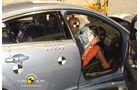 EuroNCAP-Crashtest, Jaguar XF, Fahrer-Crashtest