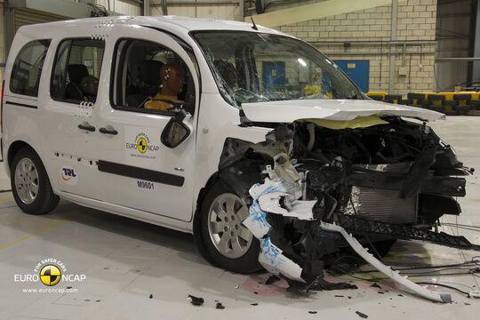 EuroNCAP Crashtest Mercedes Citan