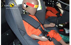 EuroNCAP-Crashtest, Mini Countryman, Kindersitz-Crashtest