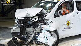 EuroNCAP-Crashtest Nissan Evalia