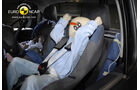 EuroNCAP-Crashtest, VW Amarok, Kindersitz-Crashtest