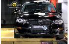 EuroNCAP-Crashtest, VW Passat, Pfahl-Crashtest