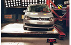 EuroNCAP-Crashtest, VW Sharan, Pfahl-Crashtest