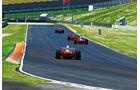 F1 Clienti, Rennwagen, Heck, Szene
