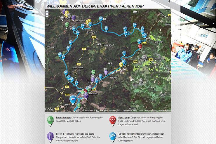 FALKEN-Map Nordschleife