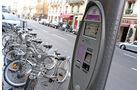 Fahrrad, Verleih, Station