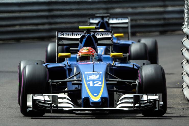 Team-Crash bei Sauber