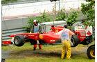 Fernando Alonso GP Kanada 2011 Rennen