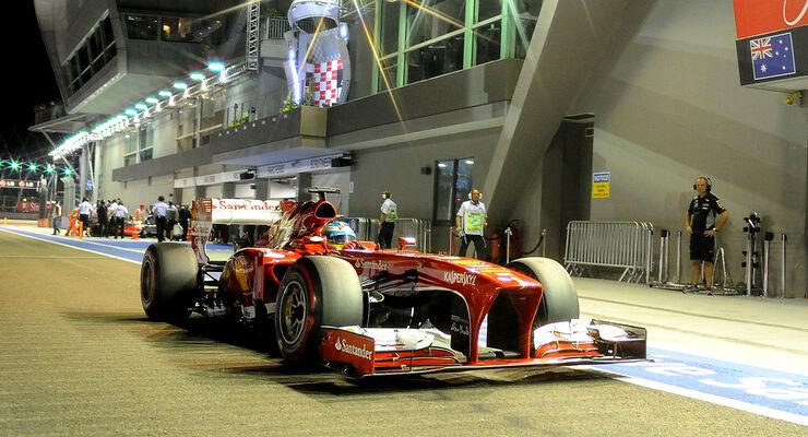 Fernando Alonso GP Singapur 2013