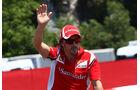Fernando Alonso  GP Spanien 2011 Rennen