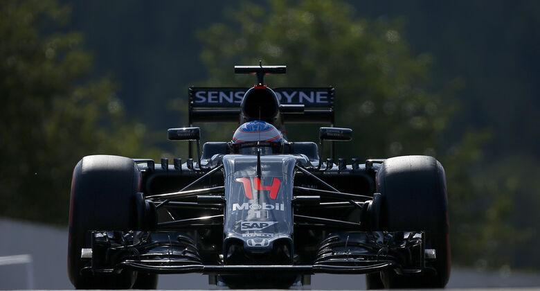 Fernando Alonso - McLaren - Formel 1 - GP Belgien - Spa-Francorchamps - 27. August 2016