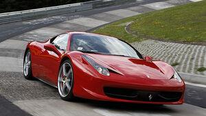 Ferrari 458 Italia, Bremsmanöver