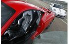Ferrari 458 Italia, Fahrersitz