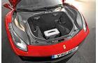 Ferrari 488 GTB, Kofferraum