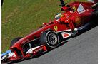 Ferrari F138 Test Jerez 2013 Technik