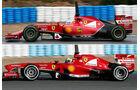 Ferrari F14T - 2014 - Formel 1 - Jerez
