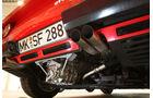 Ferrari GTO, Auspuff, Endrohre