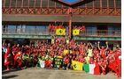 Ferrari Jubel  - Formel 1 - GP Europa - 24. Juni 2012