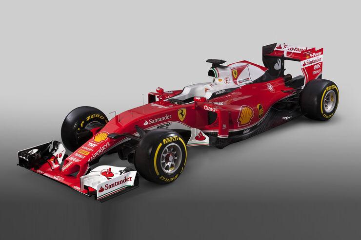 Ferrari - SF-16H - Formel 1 - 2016 - Studio