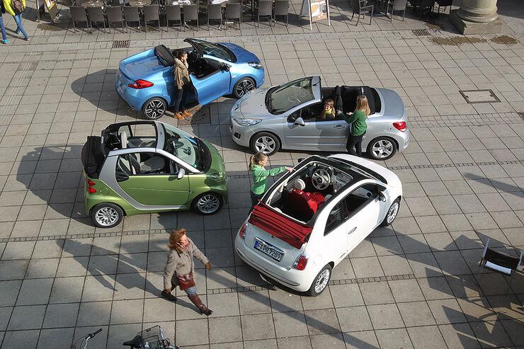 cabrios unter euro offene kleinwagen f r gro en fahrspa auto motor und sport. Black Bedroom Furniture Sets. Home Design Ideas