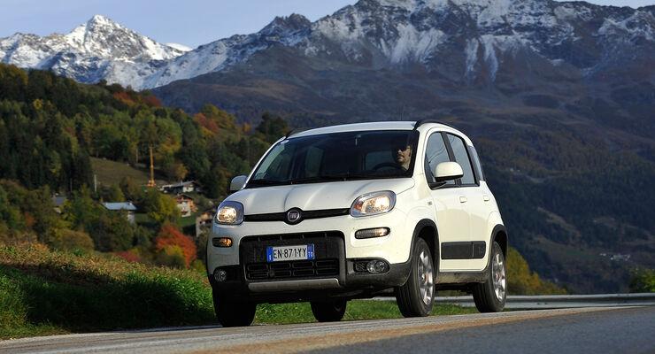 Fiat Panda 1.3 16V Multijet 4X4, Frontansicht