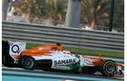 Force India GP Abu Dhabi 2012