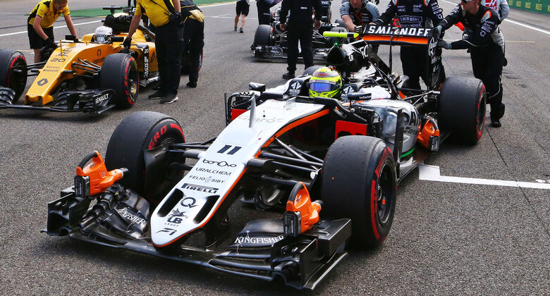 Force India im Aufwind Force India im Aufwind