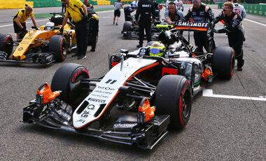 Force India im Aufwind Force India im Aufwind