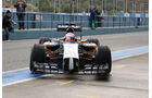 Force India - Nase - Formel 1 - Jerez-Test - 2014