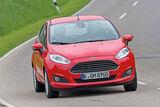 Ford Fiesta 1.0, Frontansicht