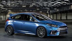 Ford Focus RS, Allradantrieb