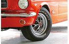 Ford Mustang Hardtop Coupé 1965, Rad, Felge
