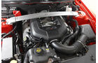 Ford Mustang RTR, Motorraum