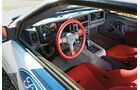 Ford RS 200, Cockpit, Lenkrad