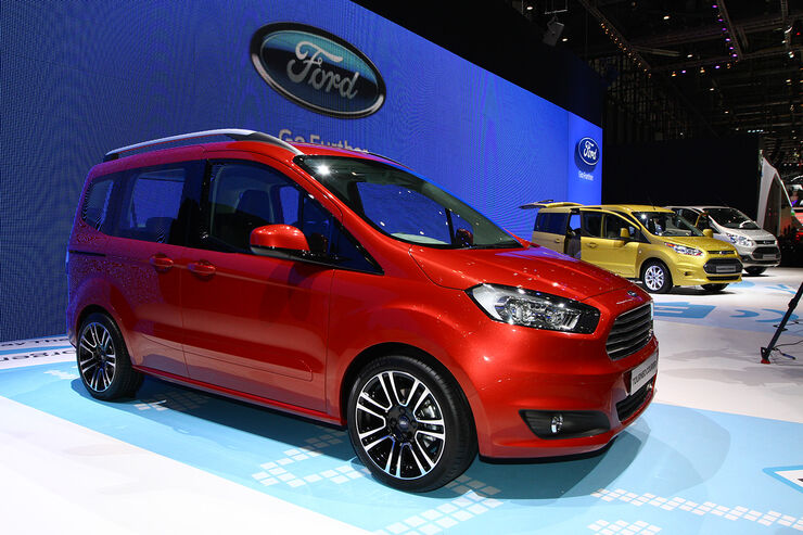 ford tourneo courier auf dem autosalon genf fiesta packesel auto motor und sport. Black Bedroom Furniture Sets. Home Design Ideas