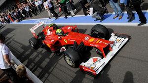 Formel 1 Felipe Massa GP Belgien 2012