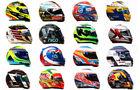Formel 1 - Helme - 2016 - Collage
